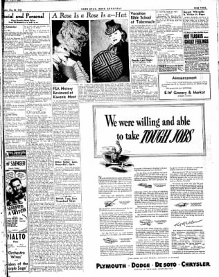 Hope Star from Hope, Arkansas on May 26, 1943 · Page 3