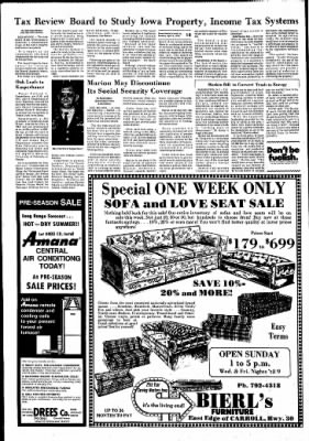 Carrol Daily Times Herald from Carroll, Iowa on April 6, 1976 · Page 12