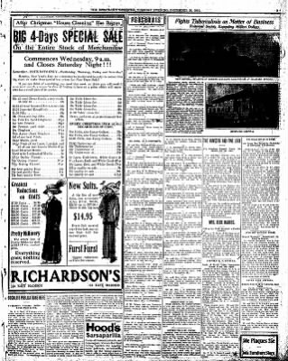 Iola Daily Register And Evening News from Iola, Kansas on December 26, 1911 · Page 3