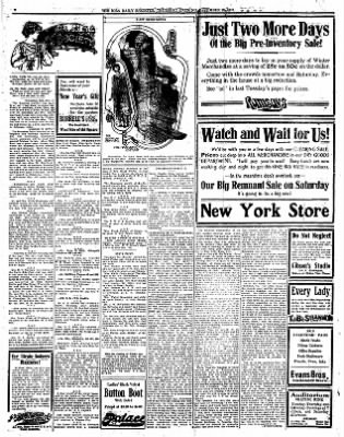 Iola Daily Register And Evening News from Iola, Kansas on December 28, 1911 · Page 2
