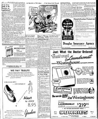 Globe-Gazette from Mason City, Iowa on October 1, 1949 · Page 15