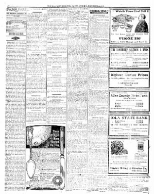 Iola Daily Register And Evening News from Iola, Kansas on December 29, 1911 · Page 4