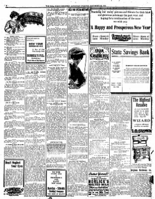 Iola Daily Register And Evening News from Iola, Kansas on December 30, 1911 · Page 4