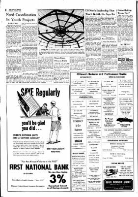 The Ottawa Herald from Ottawa, Kansas on October 31, 1961 · Page 8