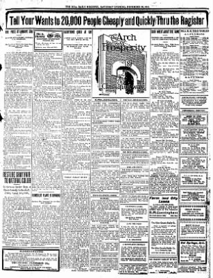 Iola Daily Register And Evening News from Iola, Kansas on December 30, 1911 · Page 10