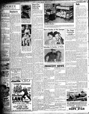 Hope Star from Hope, Arkansas on March 13, 1954 · Page 2