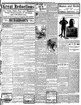 Iola Daily Register And Evening News from Iola, Kansas on January 1, 1912 · Page 3