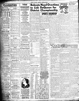 Hope Star from Hope, Arkansas on March 13, 1954 · Page 4