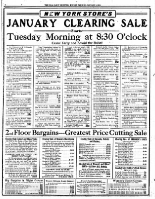 Iola Daily Register And Evening News from Iola, Kansas on January 1, 1912 · Page 8