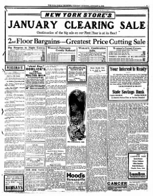 Iola Daily Register And Evening News from Iola, Kansas on January 2, 1912 · Page 3