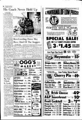 The Ottawa Herald from Ottawa, Kansas on November 2, 1961 · Page 12