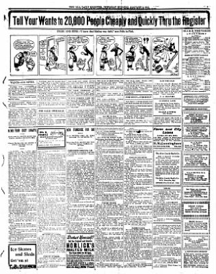 Iola Daily Register And Evening News from Iola, Kansas on January 4, 1912 · Page 7