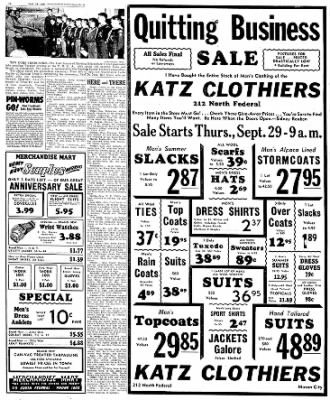 Globe-Gazette from Mason City, Iowa on September 29, 1949 · Page 16