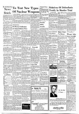 The Ottawa Herald from Ottawa, Kansas on November 3, 1961 · Page 10