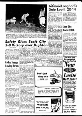 Garden City Telegram from Garden City, Kansas on October 13, 1962 · Page 13