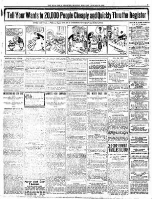 Iola Daily Register And Evening News from Iola, Kansas on January 8, 1912 · Page 5