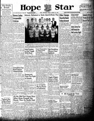 Hope Star from Hope, Arkansas on March 19, 1954 · Page 1
