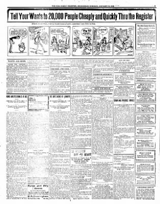 Iola Daily Register And Evening News from Iola, Kansas on January 10, 1912 · Page 5