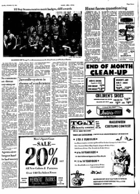Hope Star from Hope, Arkansas on October 28, 1974 · Page 7