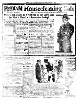 Iola Daily Register And Evening News from Iola, Kansas on January 11, 1912 · Page 6