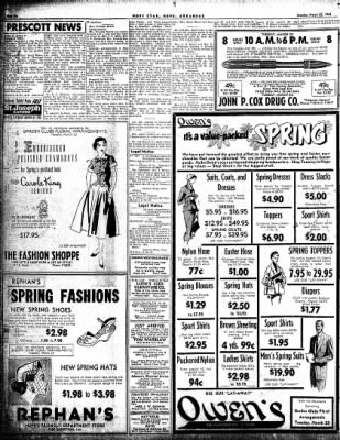 Hope Star from Hope, Arkansas on March 22, 1954 · Page 6