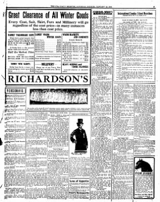 Iola Daily Register And Evening News from Iola, Kansas on January 13, 1912 · Page 3