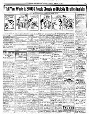 Iola Daily Register And Evening News from Iola, Kansas on January 13, 1912 · Page 5
