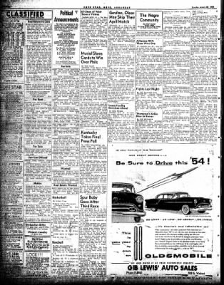 Hope Star from Hope, Arkansas on March 23, 1954 · Page 4