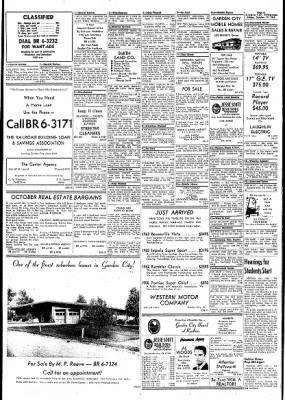 Garden City Telegram from Garden City, Kansas on October 19, 1962 · Page 6