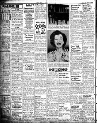 Hope Star from Hope, Arkansas on March 24, 1954 · Page 4