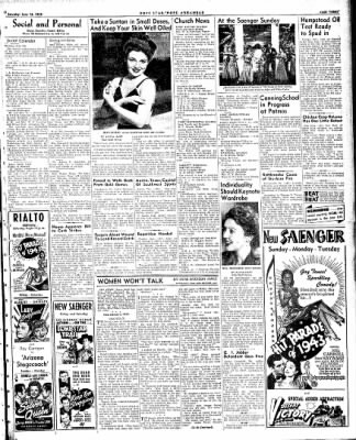 Hope Star from Hope, Arkansas on June 12, 1943 · Page 3