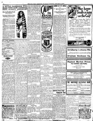 Iola Daily Register And Evening News from Iola, Kansas on January 18, 1912 · Page 4