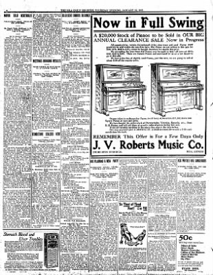 Iola Daily Register And Evening News from Iola, Kansas on January 18, 1912 · Page 6