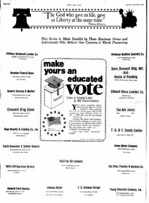 Hope Star from Hope, Arkansas on November 2, 1974 · Page 2