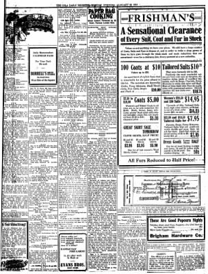 Iola Daily Register And Evening News from Iola, Kansas on January 22, 1912 · Page 3