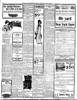Iola Daily Register And Evening News from Iola, Kansas on January 23, 1912 · Page 2