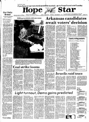 Hope Star from Hope, Arkansas on November 5, 1974 · Page 1