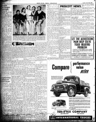 Hope Star from Hope, Arkansas on March 29, 1954 · Page 6