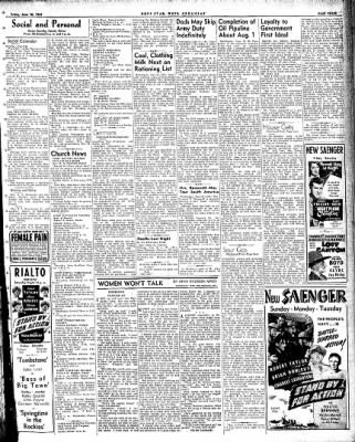 Hope Star from Hope, Arkansas on June 18, 1943 · Page 3