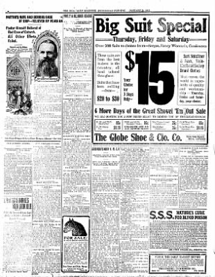 Iola Daily Register And Evening News from Iola, Kansas on January 24, 1912 · Page 6