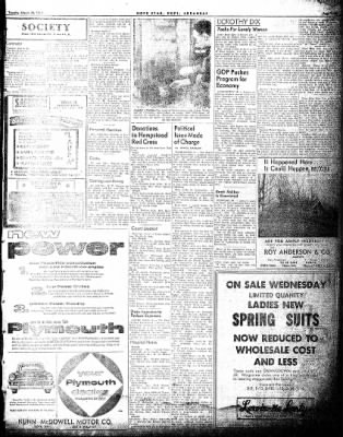 Hope Star from Hope, Arkansas on March 30, 1954 · Page 3