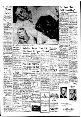 The Ottawa Herald from Ottawa, Kansas on November 16, 1961 · Page 6