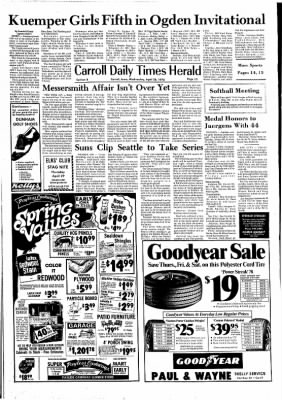Carrol Daily Times Herald from Carroll, Iowa on April 28, 1976 · Page 13