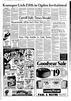 Carrol Daily Times Herald from Carroll, Iowa on April 28, 1976 · Page 15