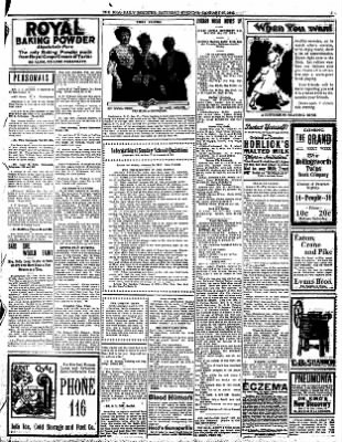 Iola Daily Register And Evening News from Iola, Kansas on January 27, 1912 · Page 3