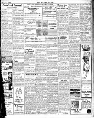 Hope Star from Hope, Arkansas on June 22, 1943 · Page 3