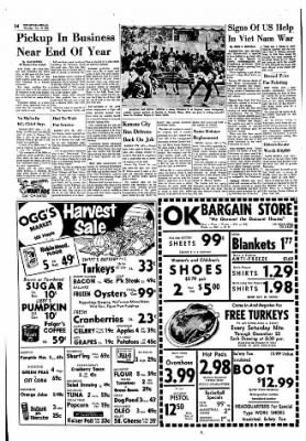The Ottawa Herald from Ottawa, Kansas on November 16, 1961 · Page 14