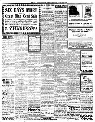 Iola Daily Register And Evening News from Iola, Kansas on January 30, 1912 · Page 3