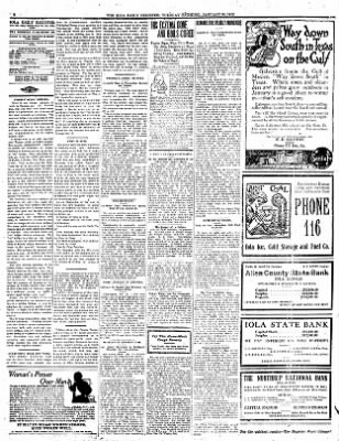 Iola Daily Register And Evening News from Iola, Kansas on January 30, 1912 · Page 4