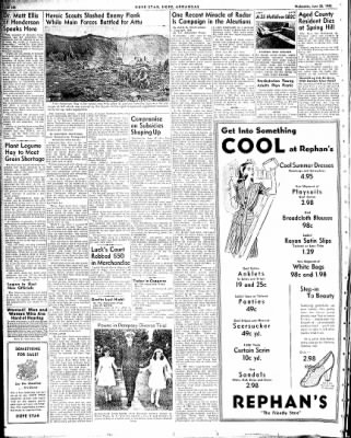 Hope Star from Hope, Arkansas on June 23, 1943 · Page 6